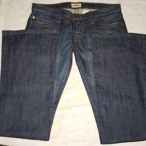 Frankie B. Flare Jeans Dark Wash Sz 8